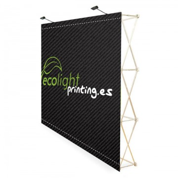 POP UP VELCRO 5x3 CON TROLLEY