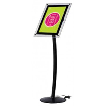 Expositor para Menú Curvo LED  A3